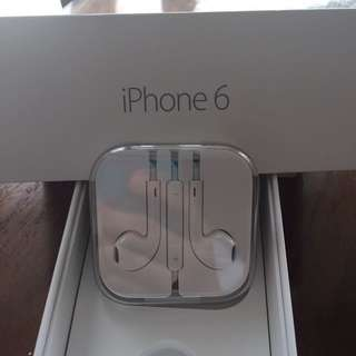 i phone 6 earphone original