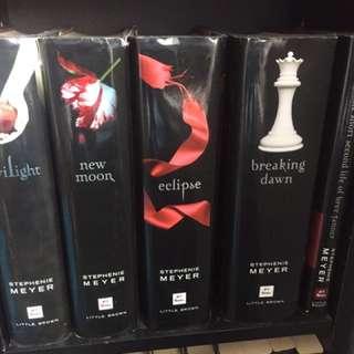 Twilight full series of books