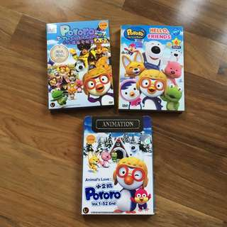 Pororo and Friends DVDs