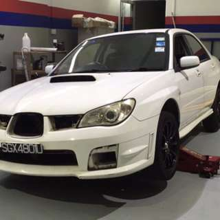 Impreza Bonnet And Boot