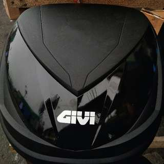 Givi Box With Base Plate And Givi Bracket