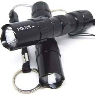 Police Senter LED Flashlight 3W Waterproof