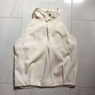 BN off-white blouse