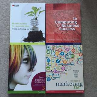 TEXTBOOKS!! RMIT FIRST YEAR STUDENTS!