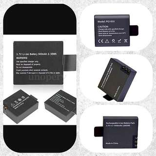 Extra Battery For action Camera
