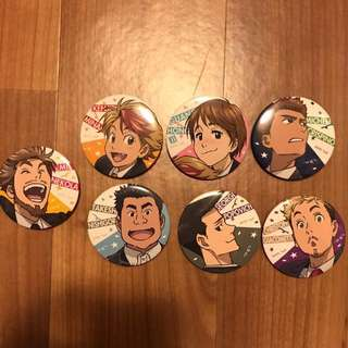 Yuri on Ice Yuri on Stage! Assorted Can Badges