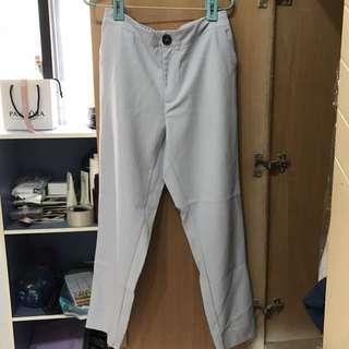 水藍色老爺褲