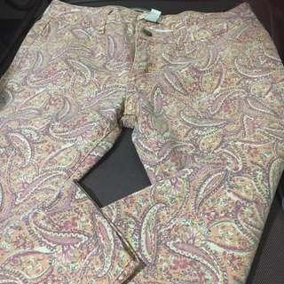 Paisley print - Forever 21 pants