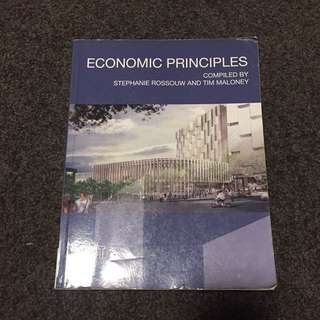 Economic Principles Textbook