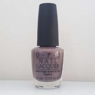 """Unopened OPI Nail Polish in """"I Sao Paulo over there"""""""
