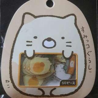 japanese transparent sticker