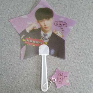 EXO ~ LAY HAND FAN ~ READY STOCK