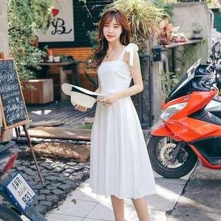 全新白洋裝