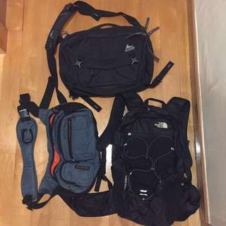 Gregory graph 12 / North face Angstrom 20 / wisewalker