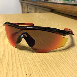 Oakley M2 Frame Polished Black Lens OO Red Iridium Polarized