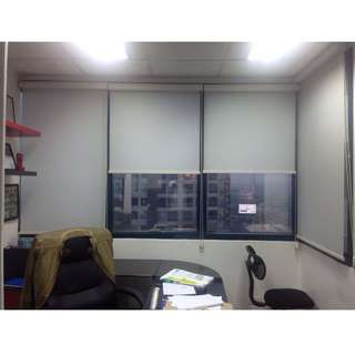 window blinds roll-up rush sale!