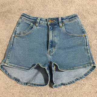 Rollas High Waisted Shorts