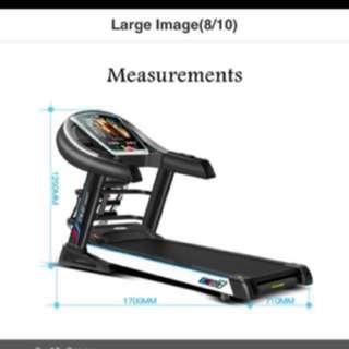 PePu [PePu-Gym]*Treadmill* And ll TM007  Electric Foldable Treadmill/motorised treadmill