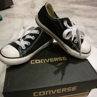 💯Converse Black Kids Shoe