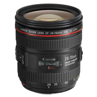 Canon EF 24-70mm F4 L IS USM Lens (24-70 F/4 L) Brand New