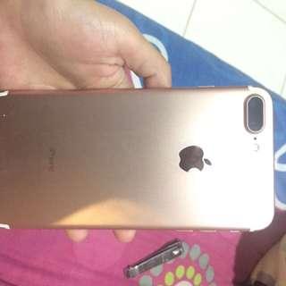Iphone 7+ 32 gb rosegold