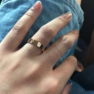 cartier ring 18k gold