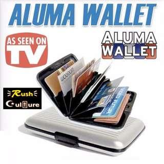 [In Stock BRAND NEW] ALUMA Aluminium RFID Business Card Credit Card ID Card Wallet Holder Case