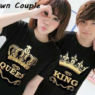 Kaos Couple | Baju Couple | Baju Pasangan | Kaos Terlengkap | Crown
