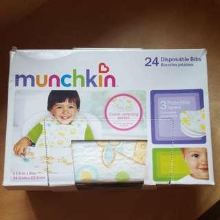 Munchkin Disposable Bibs 即棄口水肩