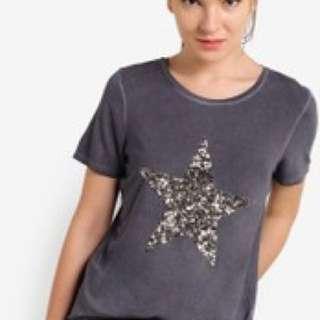 nine by savannah miller star tee 澳洲品牌星星T恤