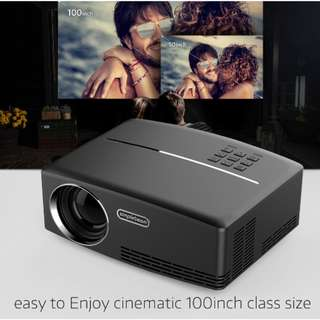 熱賣 迷你LED投影機 - Mini LED projector 1800 Lumen - S06193
