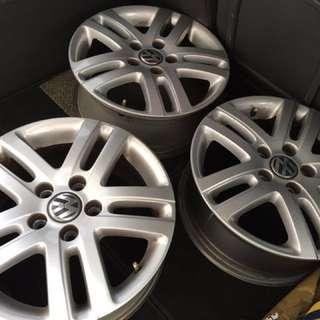 Volkswagen 16 Inch Original Rims