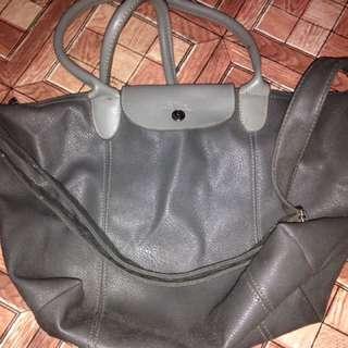 Authentic small longchamp bag