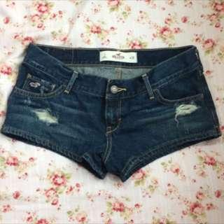 Hollister牛仔短褲