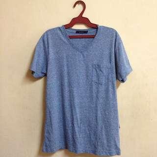 Bossini Plane Blue Tee (T-shirt) Comfort Shirt
