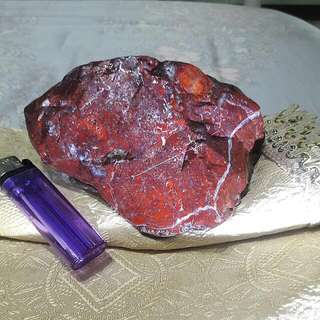 花蓮總統石、俗稱台灣雞血石