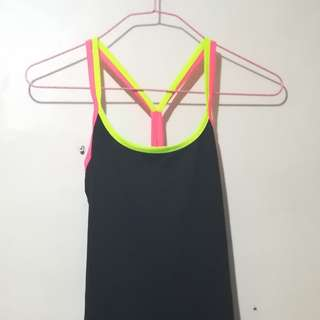 Strappy Racerback Top