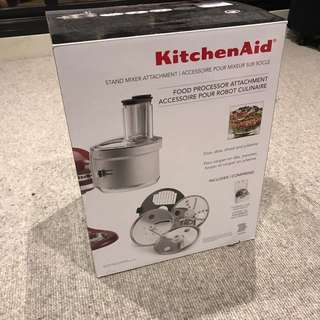 Brand New KitchenAid Food Processor Attachment