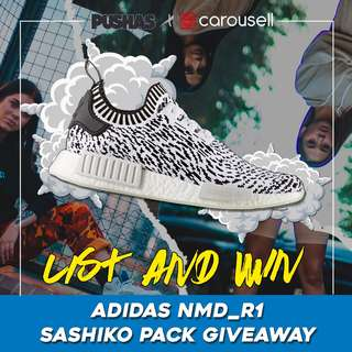 Pushas X Carousell Adidas NMD R1 Giveaway
