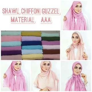 Shawl Chiffon Guzzel