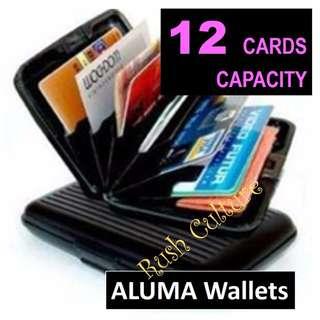 [BRAND NEW] ALUMA Aluminium RFID ID Credit Card Business Card Wallet Holder Case