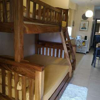 Repriced Bunk Bed Hardwood Acacia