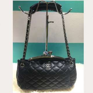Chanel kisslock party bag