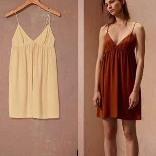 $175 Aritzia Le Fou Wilfred 100% Silk Dress