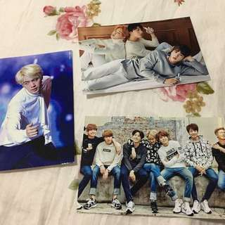 KPOP BTS fanmade Photocards