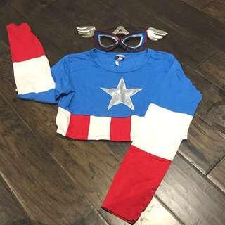 Captain America Halloween Costume
