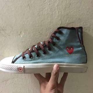 Converse X Cdg 8.5uk Made In Indonesia  Negotiable For Serious Buyer