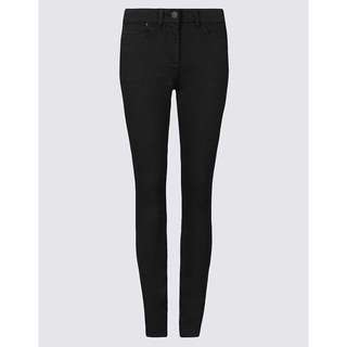 m&s black jeggings