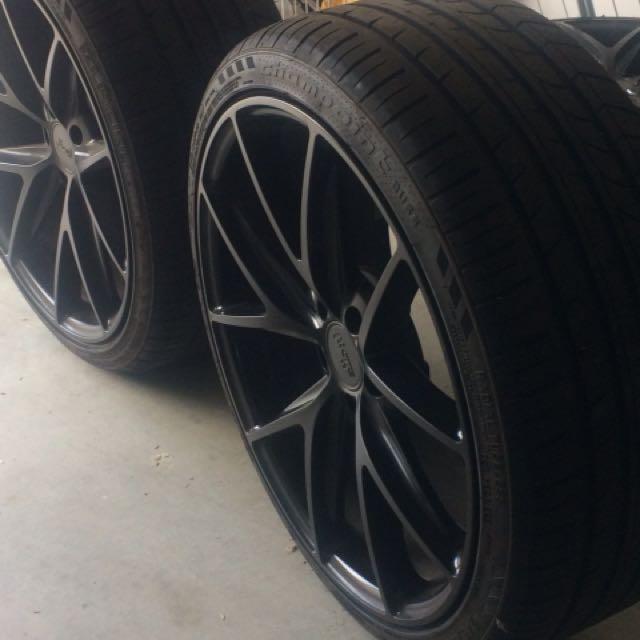 """20"""" Niche Wheels & Tyres"""