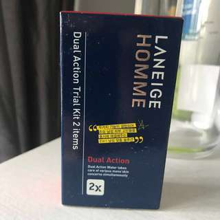 Laneige Homme Dual Action Trial Kit